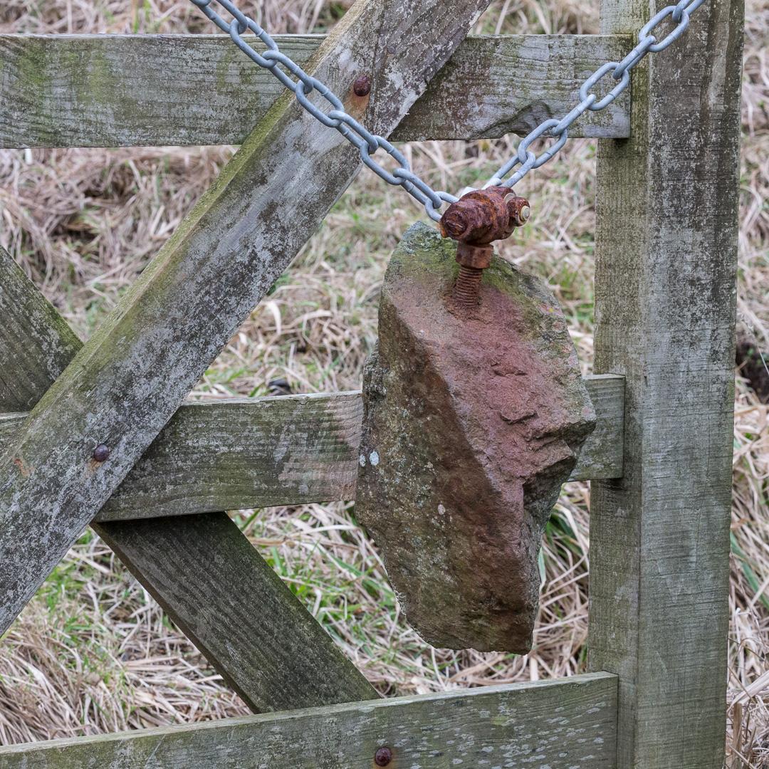 Gate closer, Gammon Head, Devon.