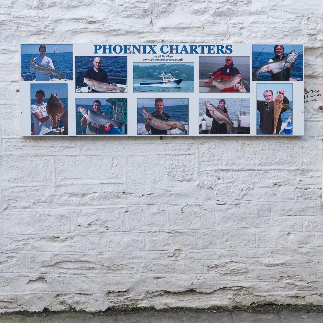 Phoenix Charters, Salcombe, Devon.
