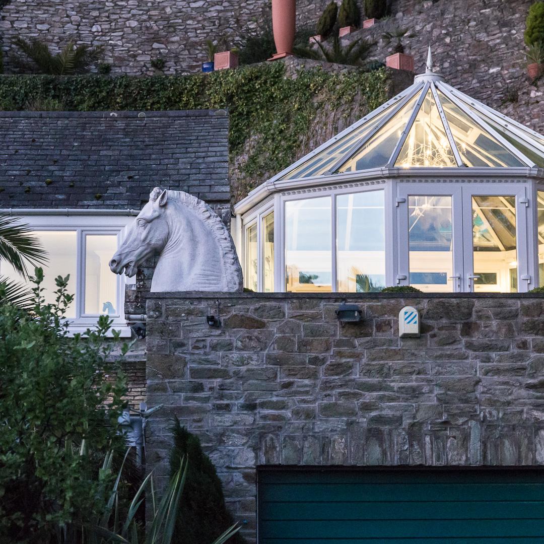 Horse Head, Salcombe, Devon.