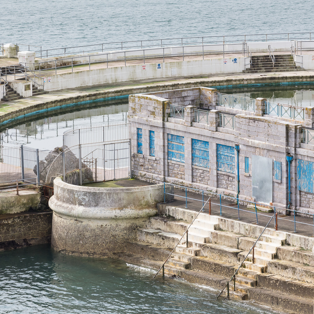 Tinside Pool, Plymouth, Devon.