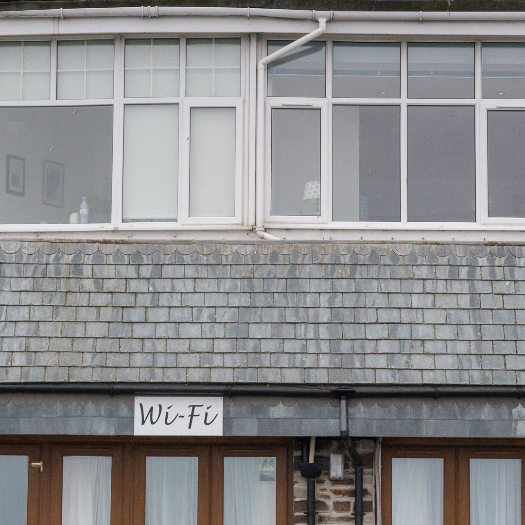 Wi-Fi, Hannafore, Cornwall.
