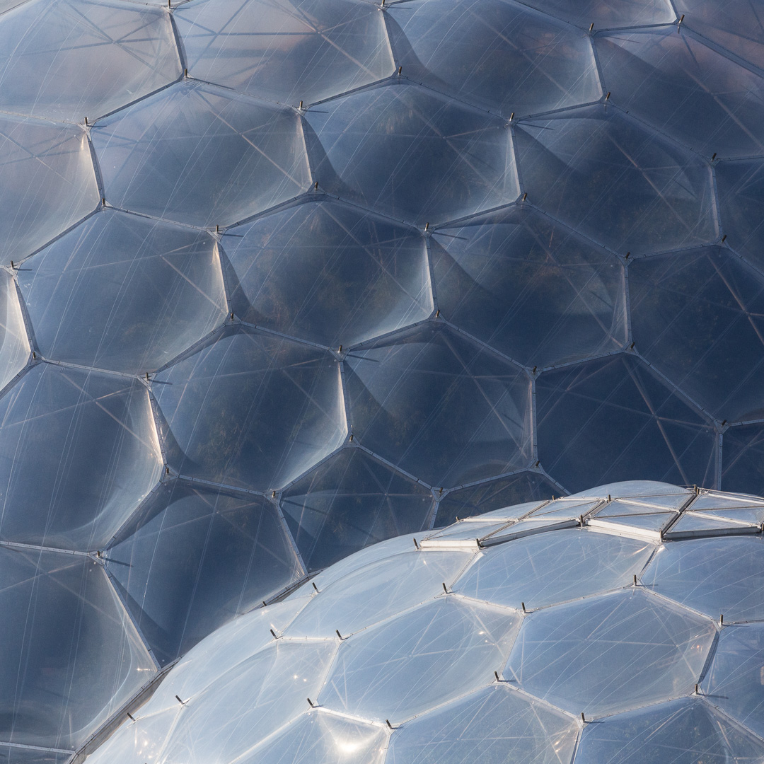 Eden Project detail I, Cornwall.
