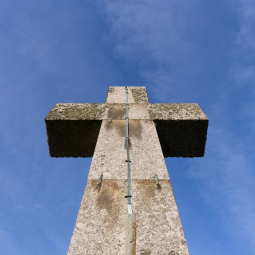 Cross, Dodman Point, Cornwall.