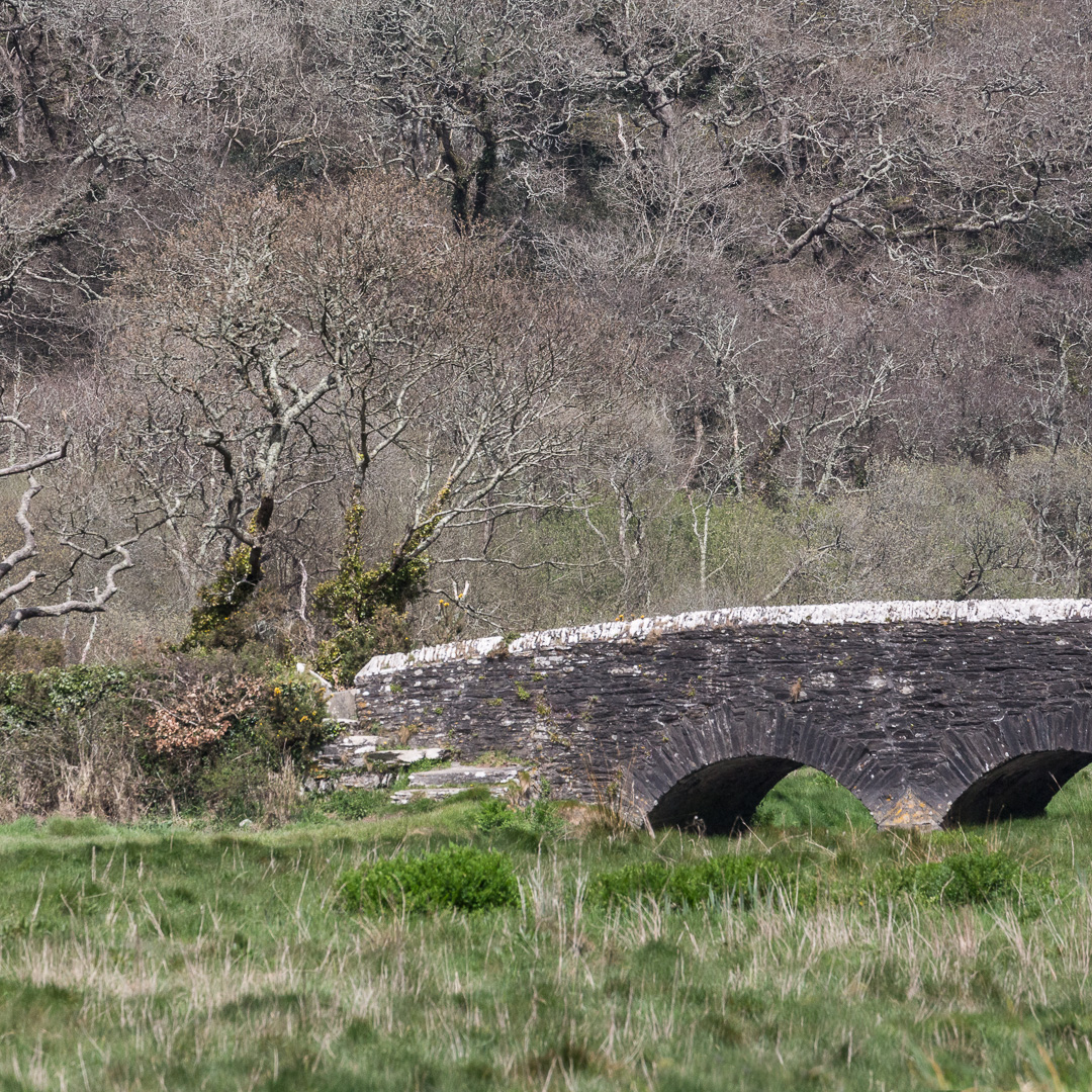 Sett Bridge, River Fal, Cornwall.