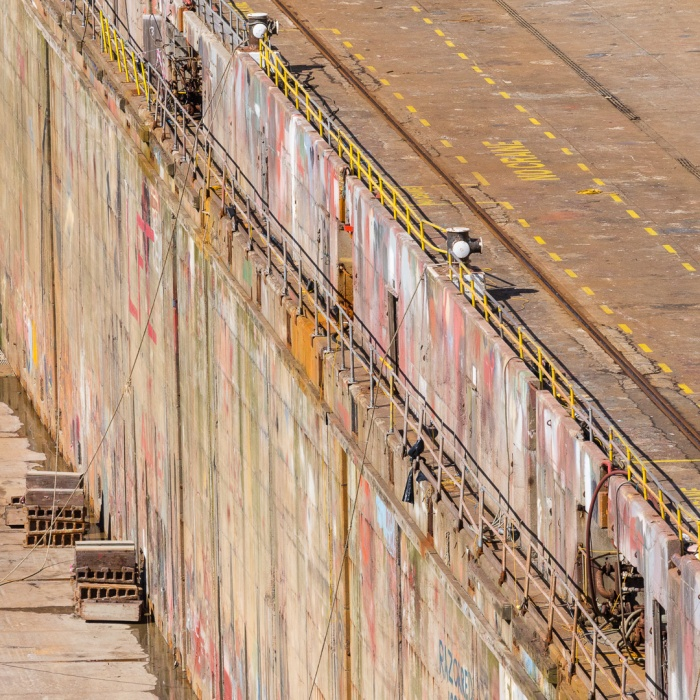 Falmouth Dry Dock II, Cornwall.