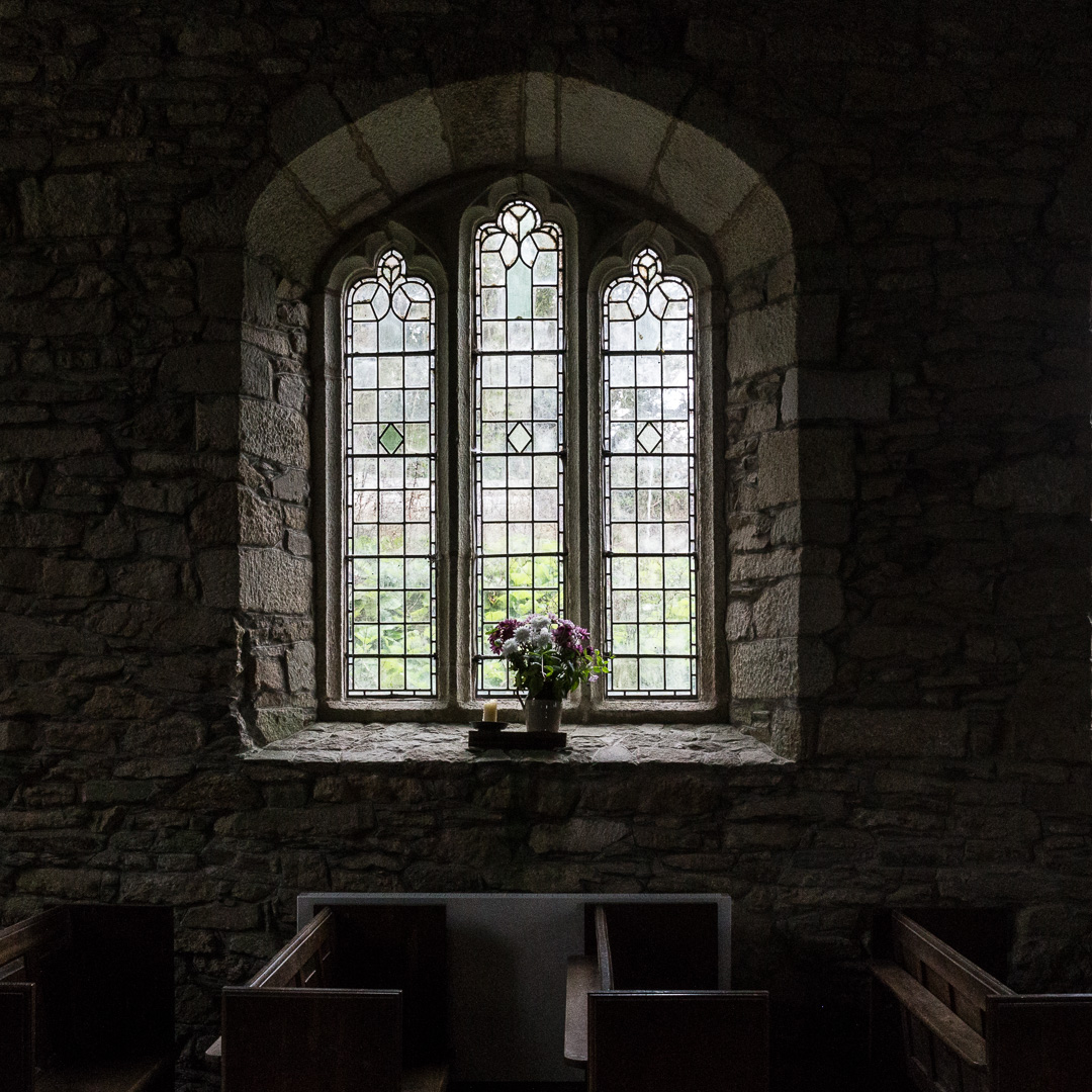 St Mawgan-in-Meneage church, Cornwall.