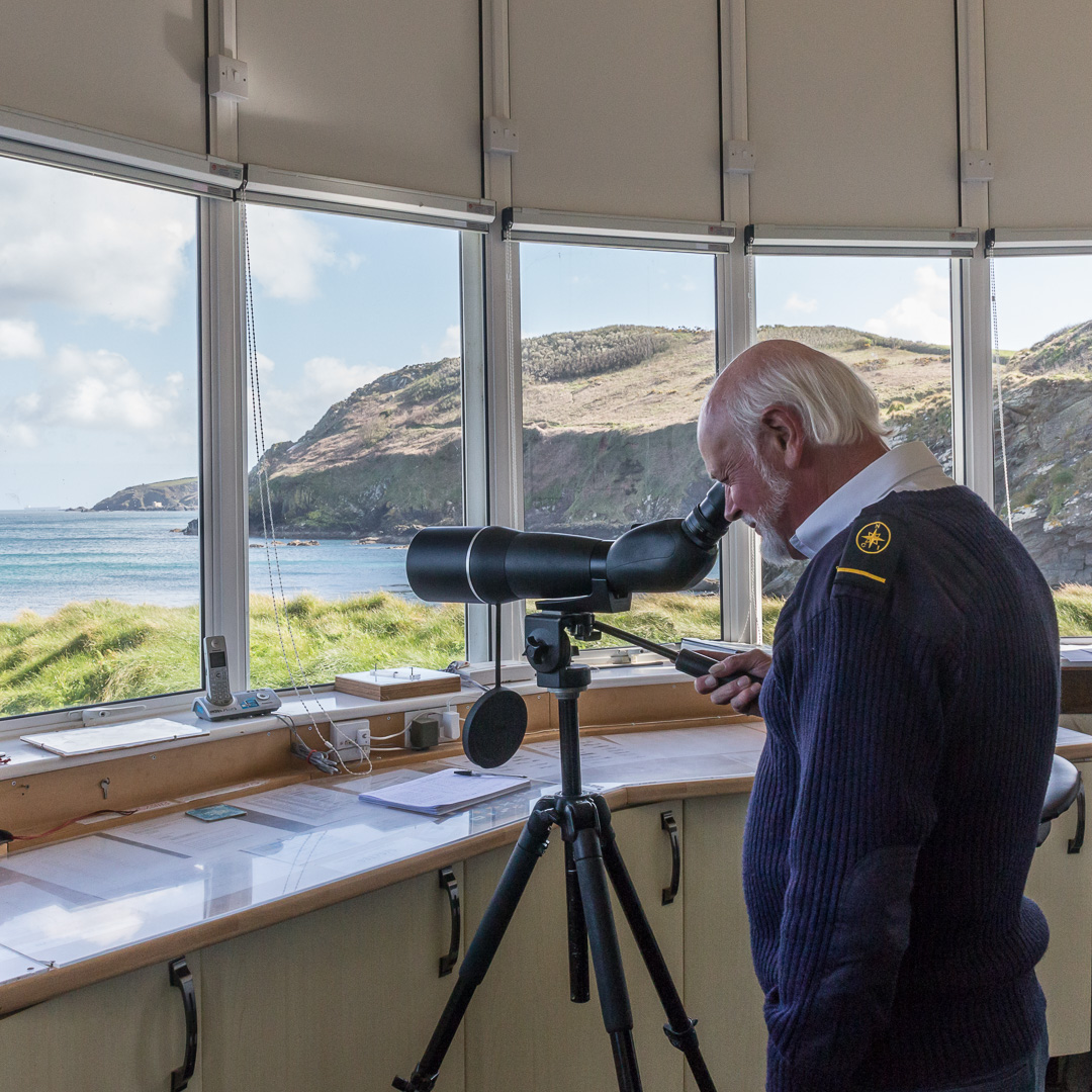 Nare Point Observation Post (National Coastwatch Institution), Cornwall.
