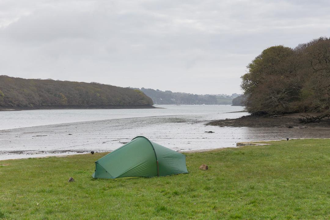 Camp, Tremayne Quay, Cornwall.