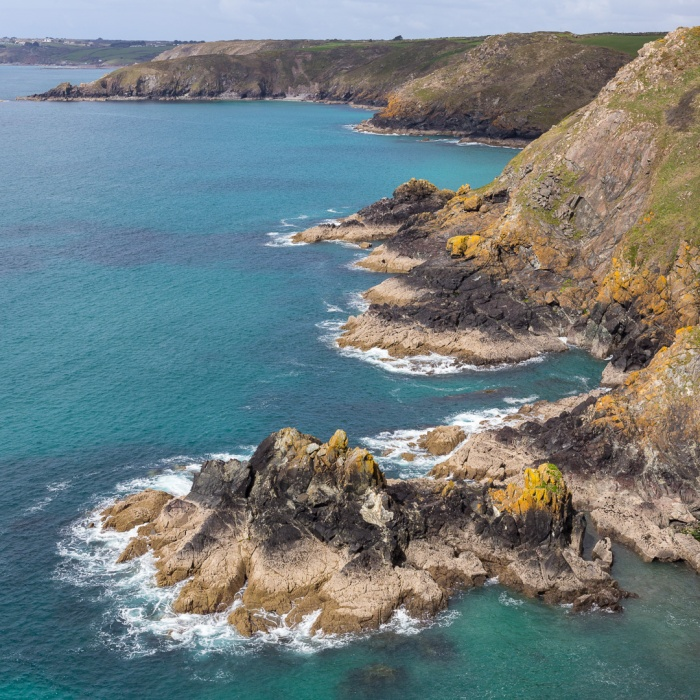 Meludjack and Beagles Point, Cornwall.