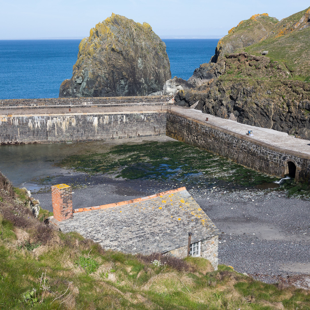 Mullion Cove Harbour, Cornwall.