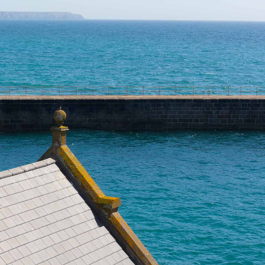 Porthleven Harbour, Cornwall.