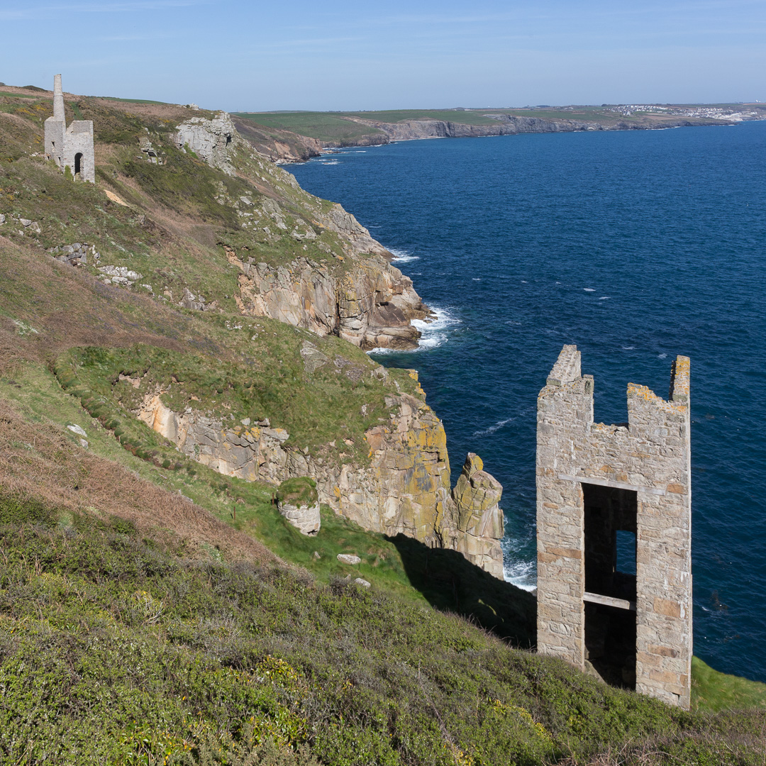 Wheal Trewavas copper mine, 1834-46, Cornwall.