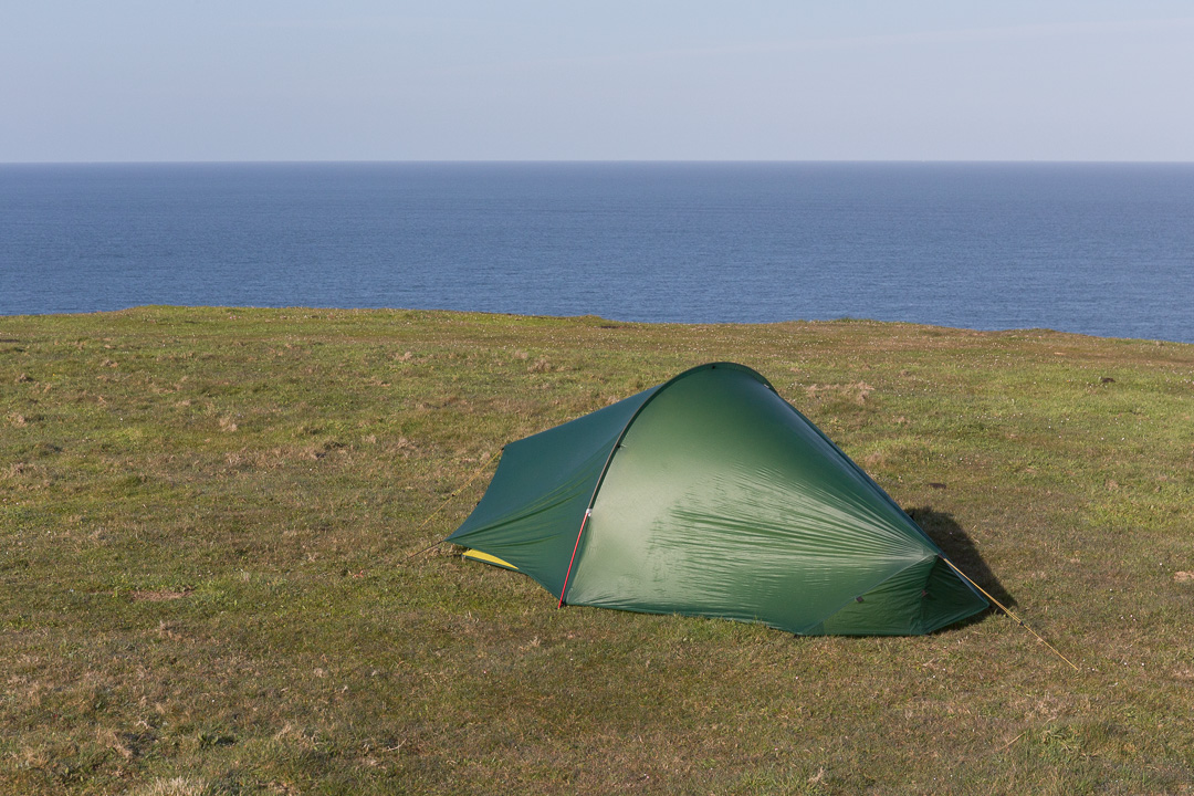 Camp, Vellan Head, Cornwall.