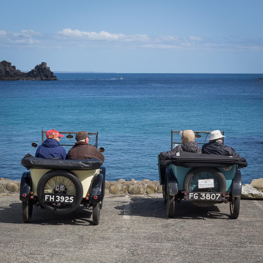 Austin Sevens, Lamorna Cove, Cornwall.