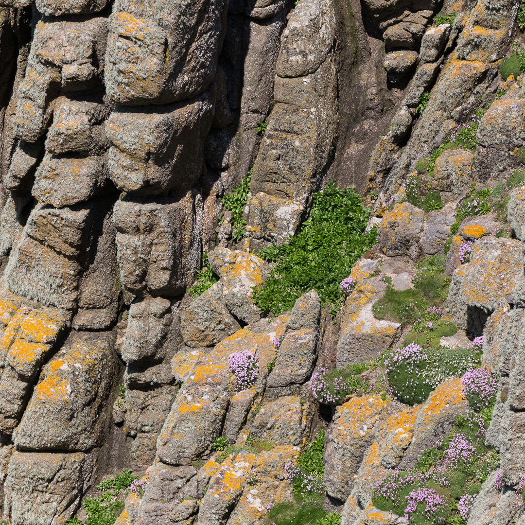 Cliff form at Tol-Pedn-Penwith, Cornwall.