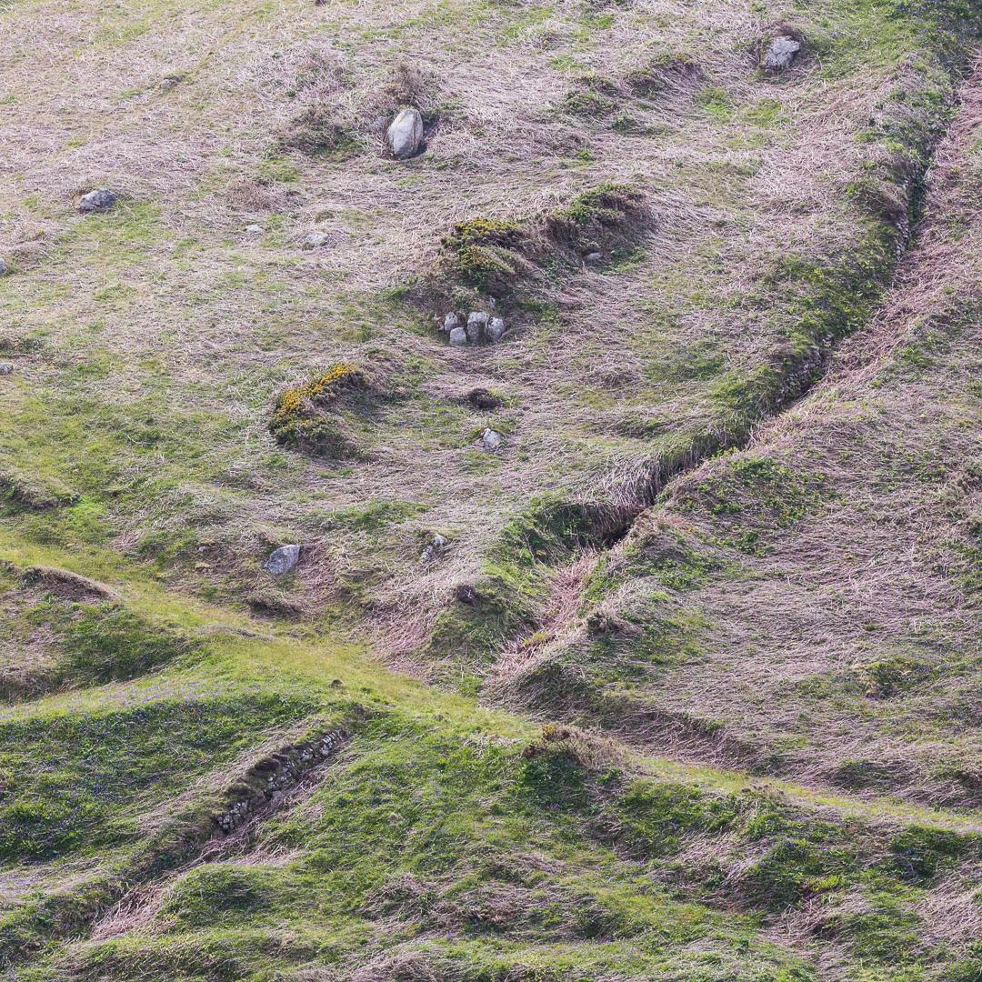 Embossed landscape, Boscean, Cornwall.