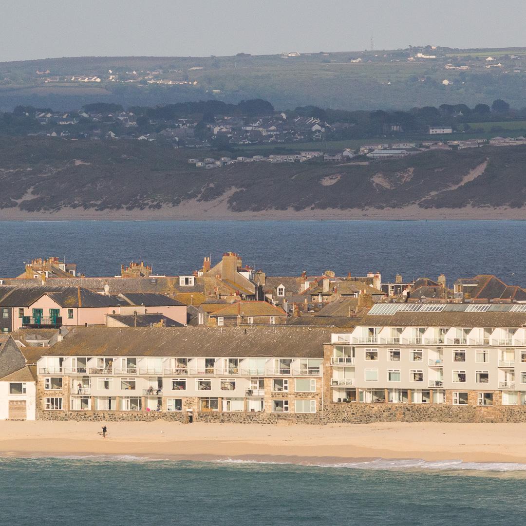 Porthmeor Beach, St Ives, Cornwall.