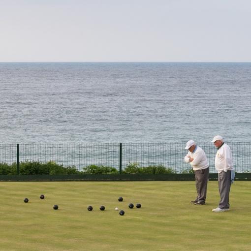 Porthmeor Bowling Club, St Ives, Cornwall.