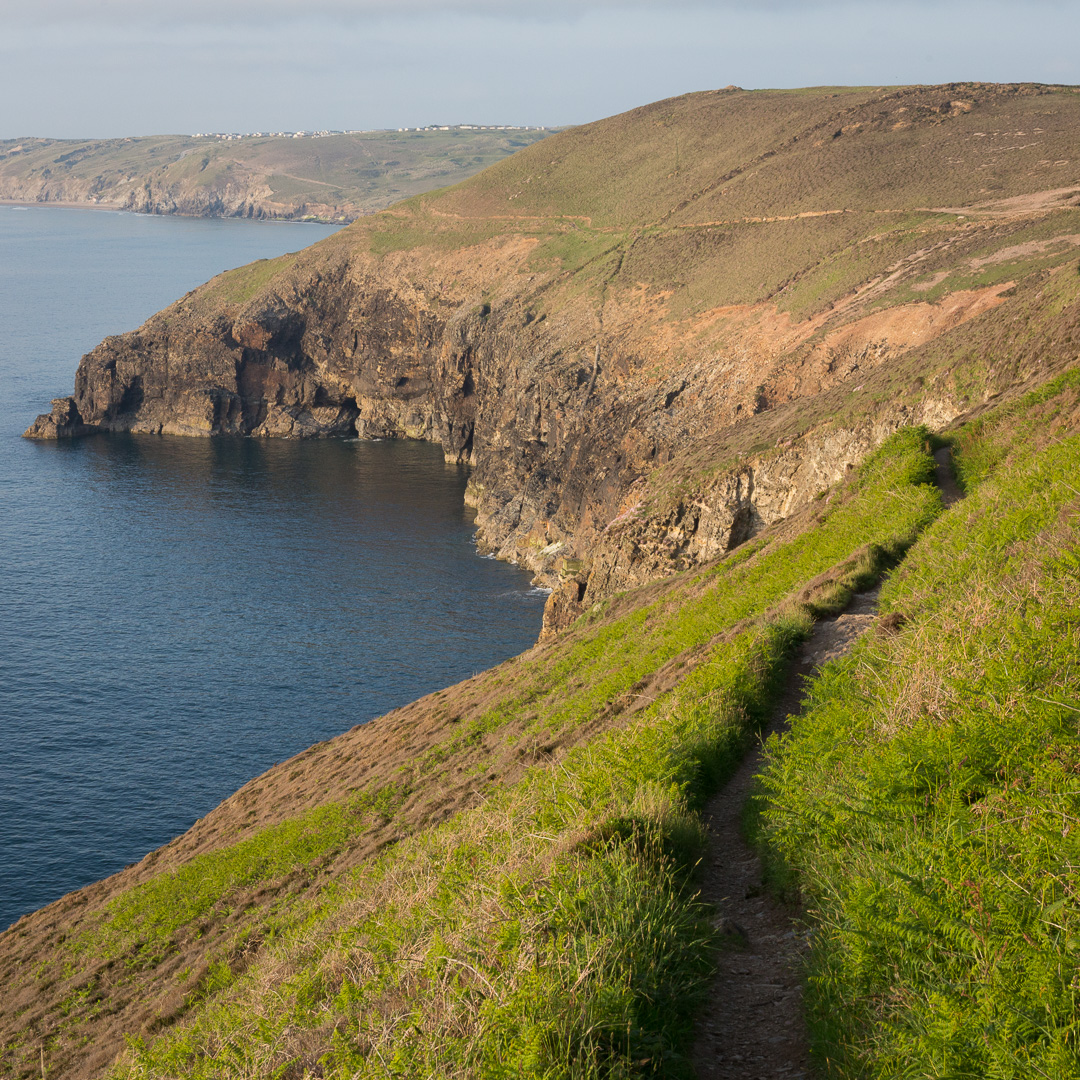 Coastal Path to Perranporth from Cligga Head, Cornwall.