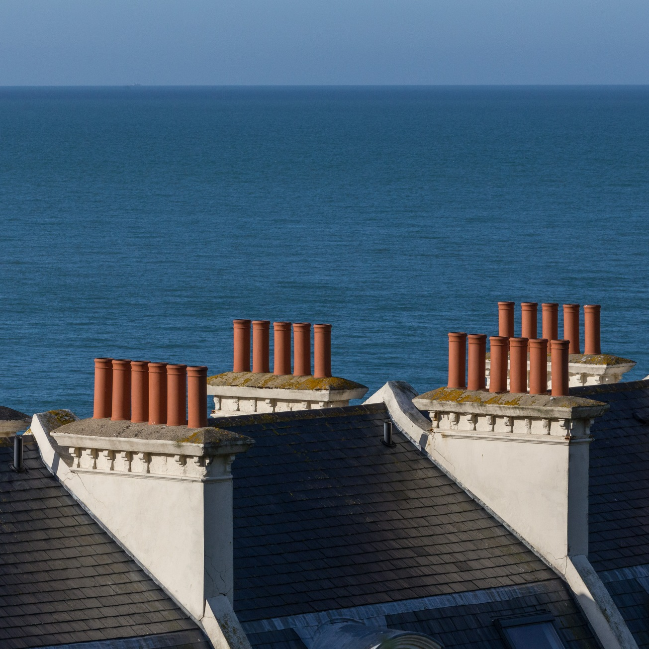 Chimneys, Folkestone Harbour.
