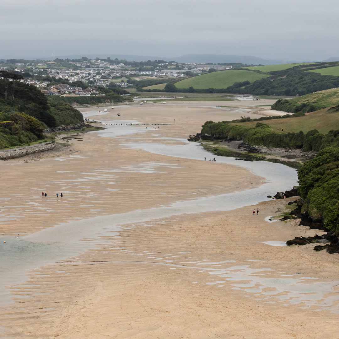 The Gannel, Newquay, Cornwall.