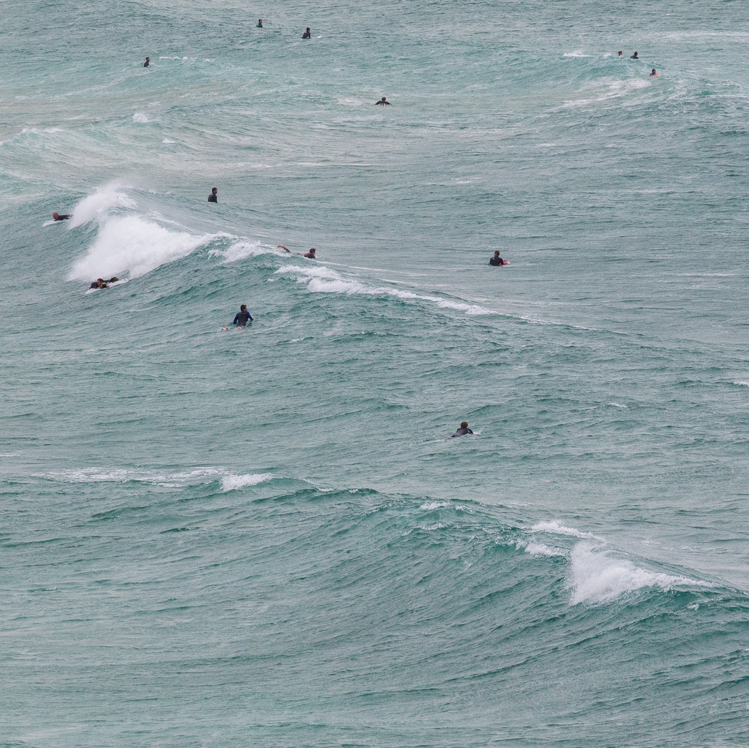 Surfers II, Fistral Beach, Newquay, Cornwall.