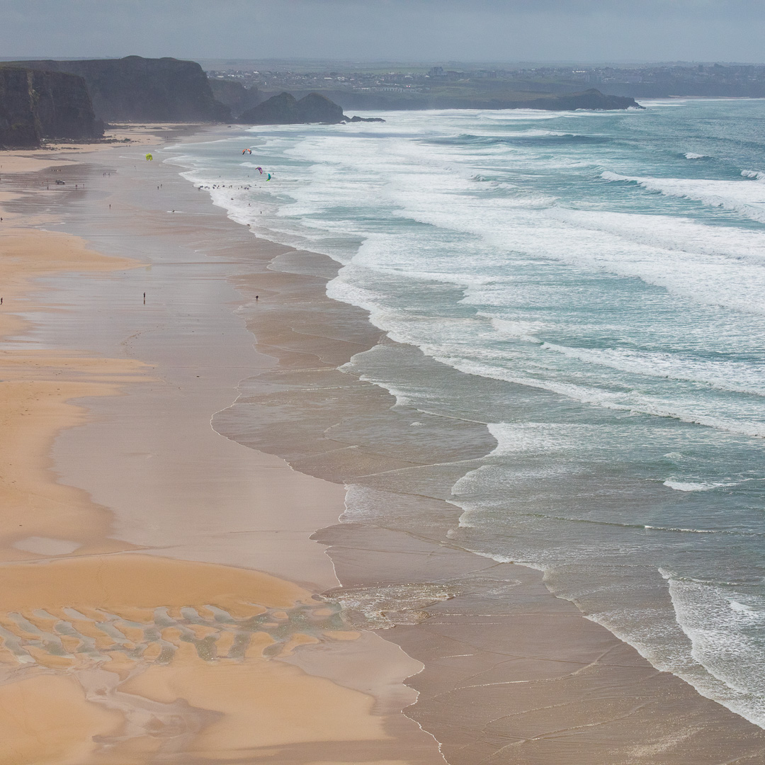 Watergate Bay, Cornwall.