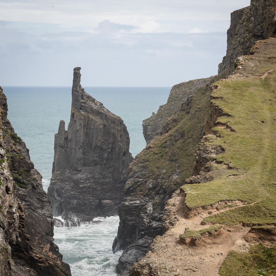 Gunver Head, Cornwall.