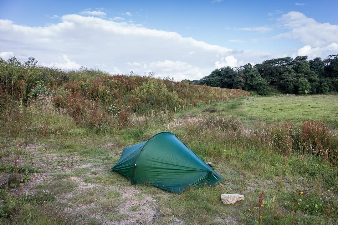Camp, Dinham, Cornwall,