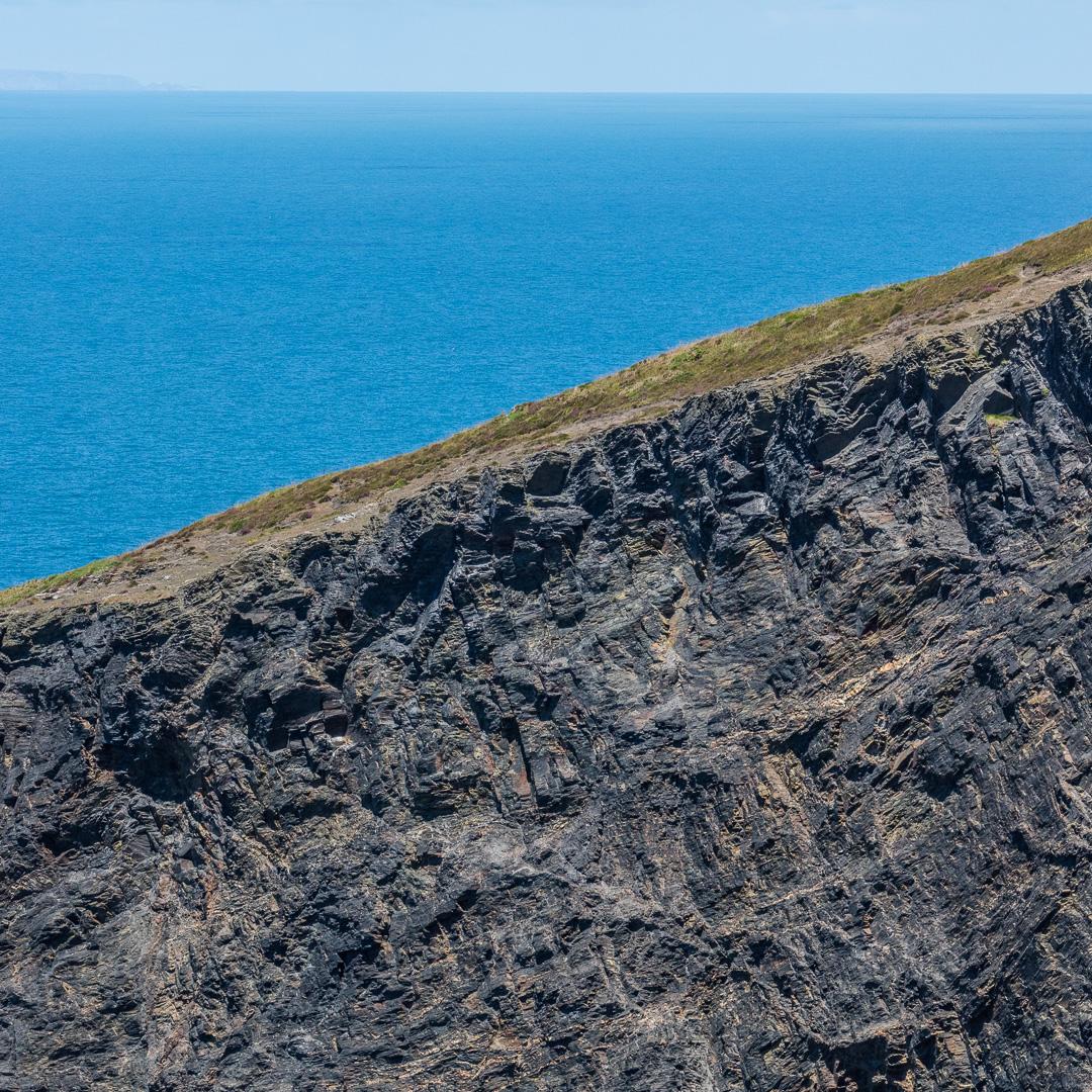Buckator cliff II, Cornwall.