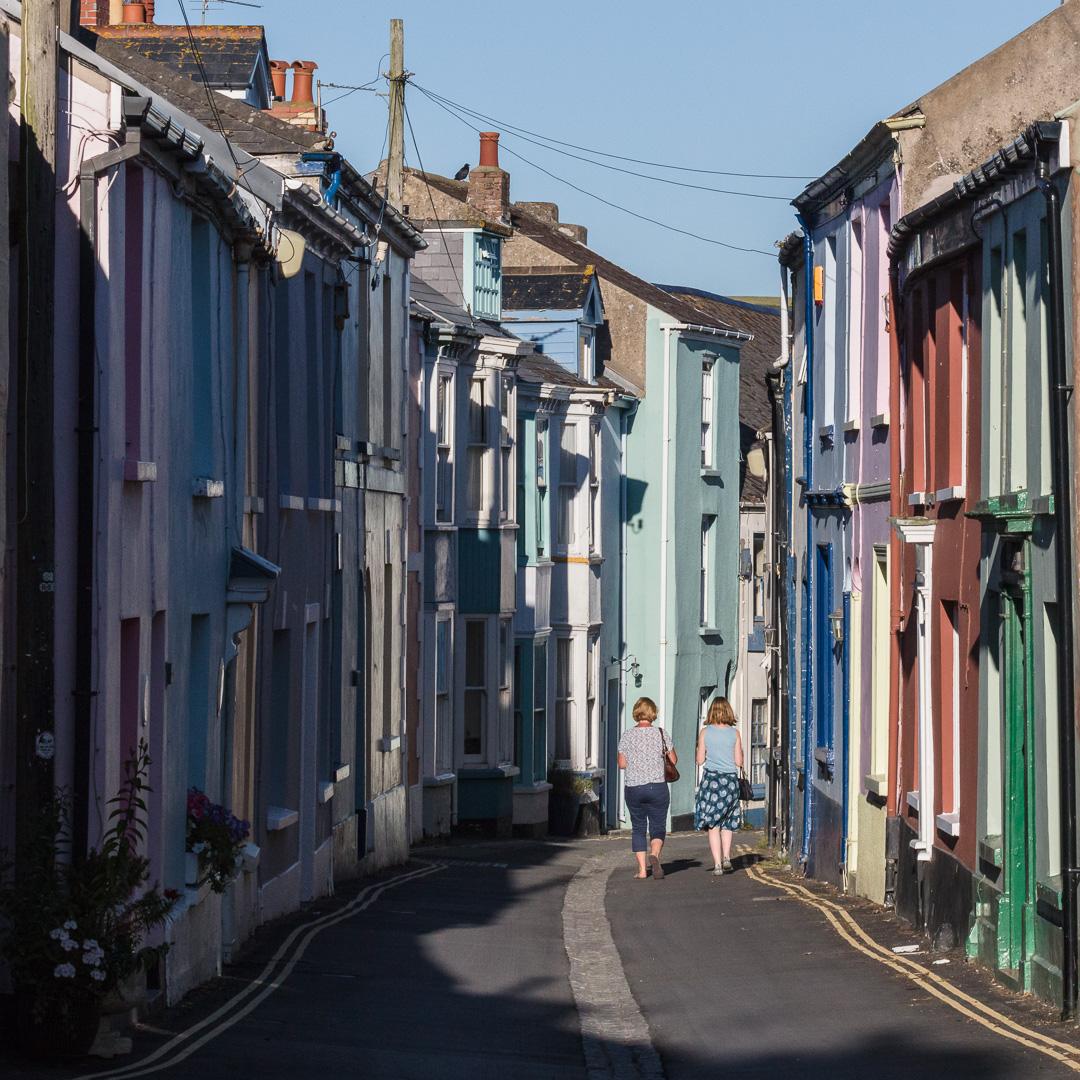 Irsha Street, Appledore, Devon.