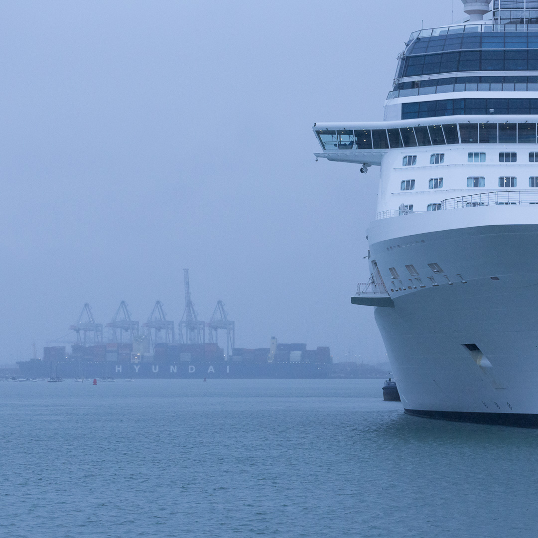 Cruise ship Celebrity Eclipse, Port of Southampton, Hampshire.