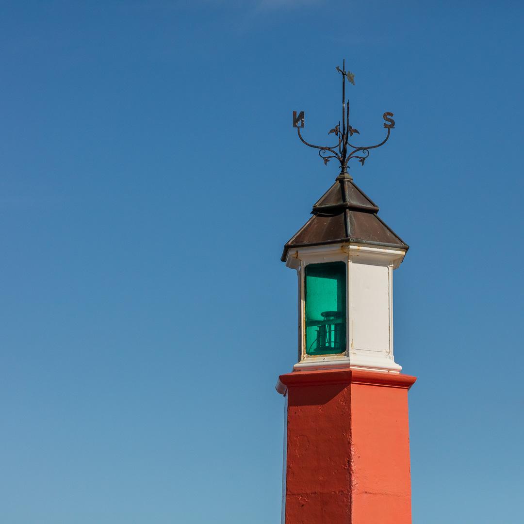 Watchet Harbour Lighthouse, Somerset.