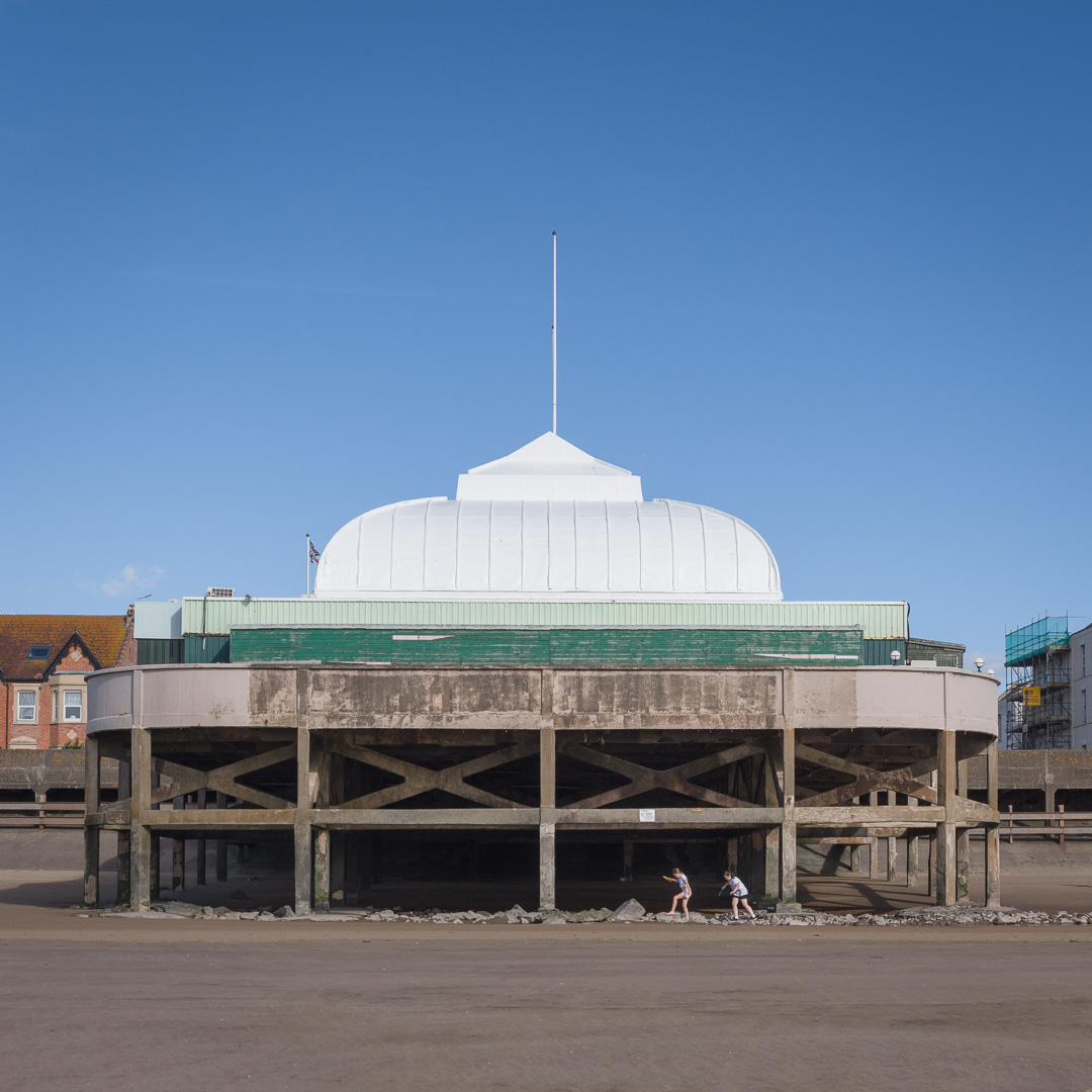 Burnham-On-Sea Pier, Britain's Shortest Pier, Somerset.
