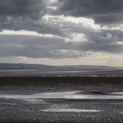 Low tide, Berrow Flats, Somerset.