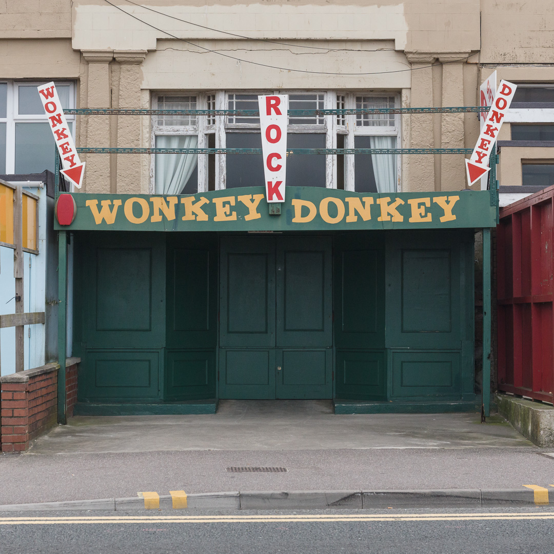 Wonkey Donkey gift shop, Weston-super-Mare, Avon.