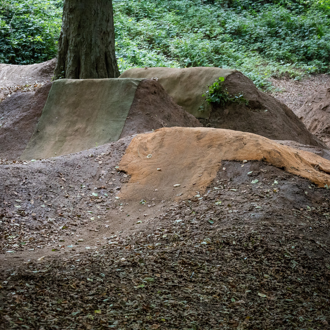 Sand Bay Dirt Jumps II, Weston Woods, Avon.