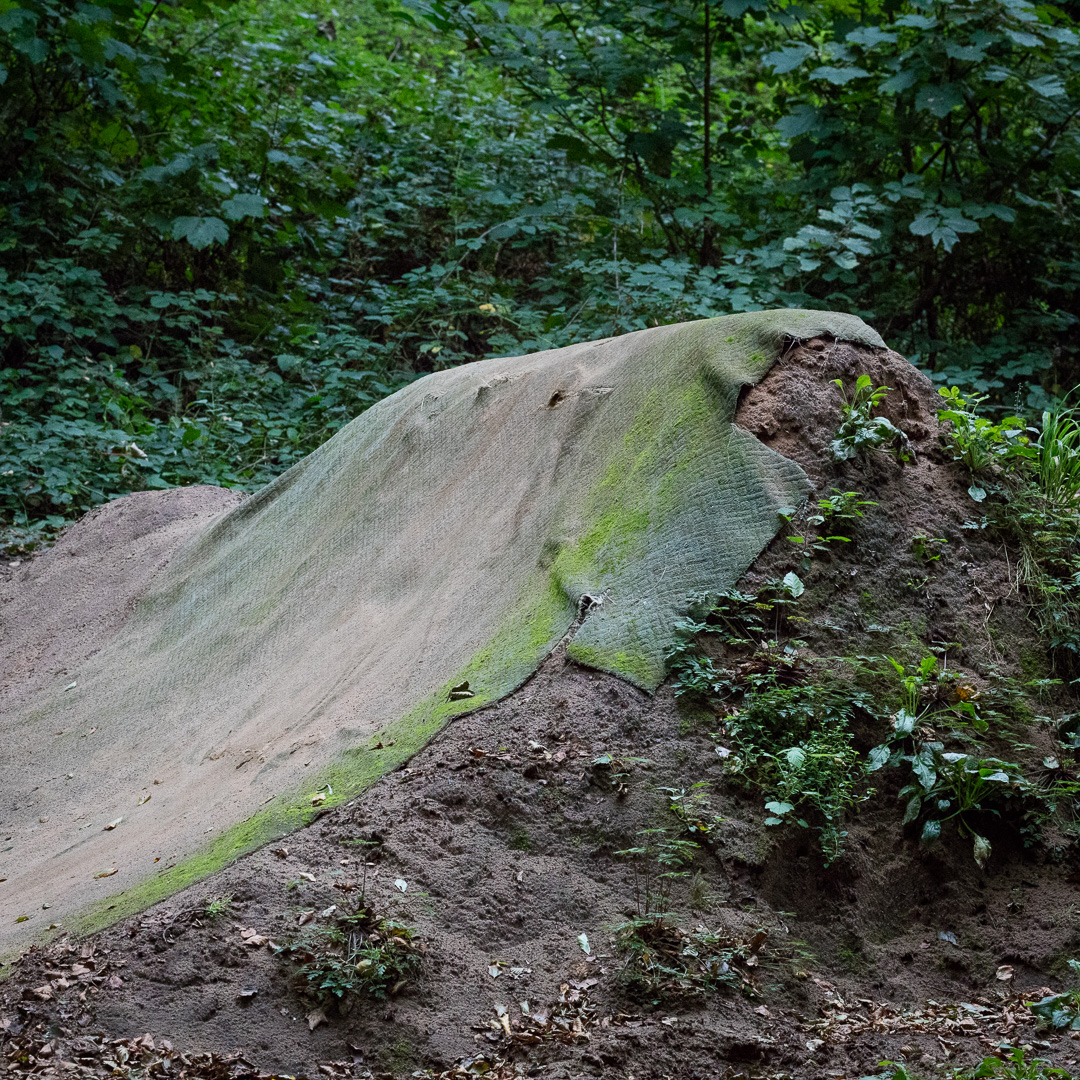 Sand Bay Dirt Jumps III, Weston Woods, Avon.
