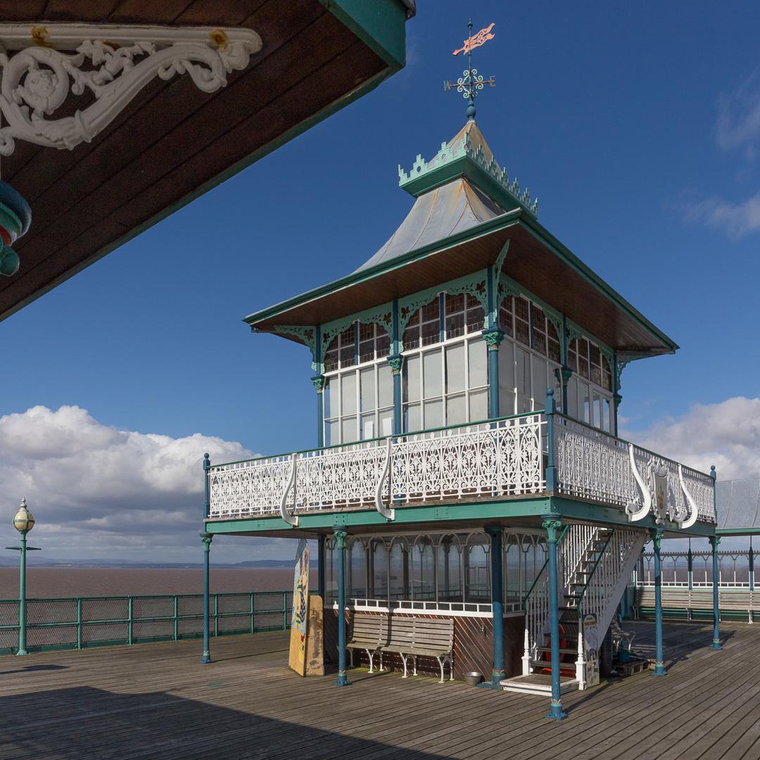 The pavilion, Clevedon Pier, Avon.