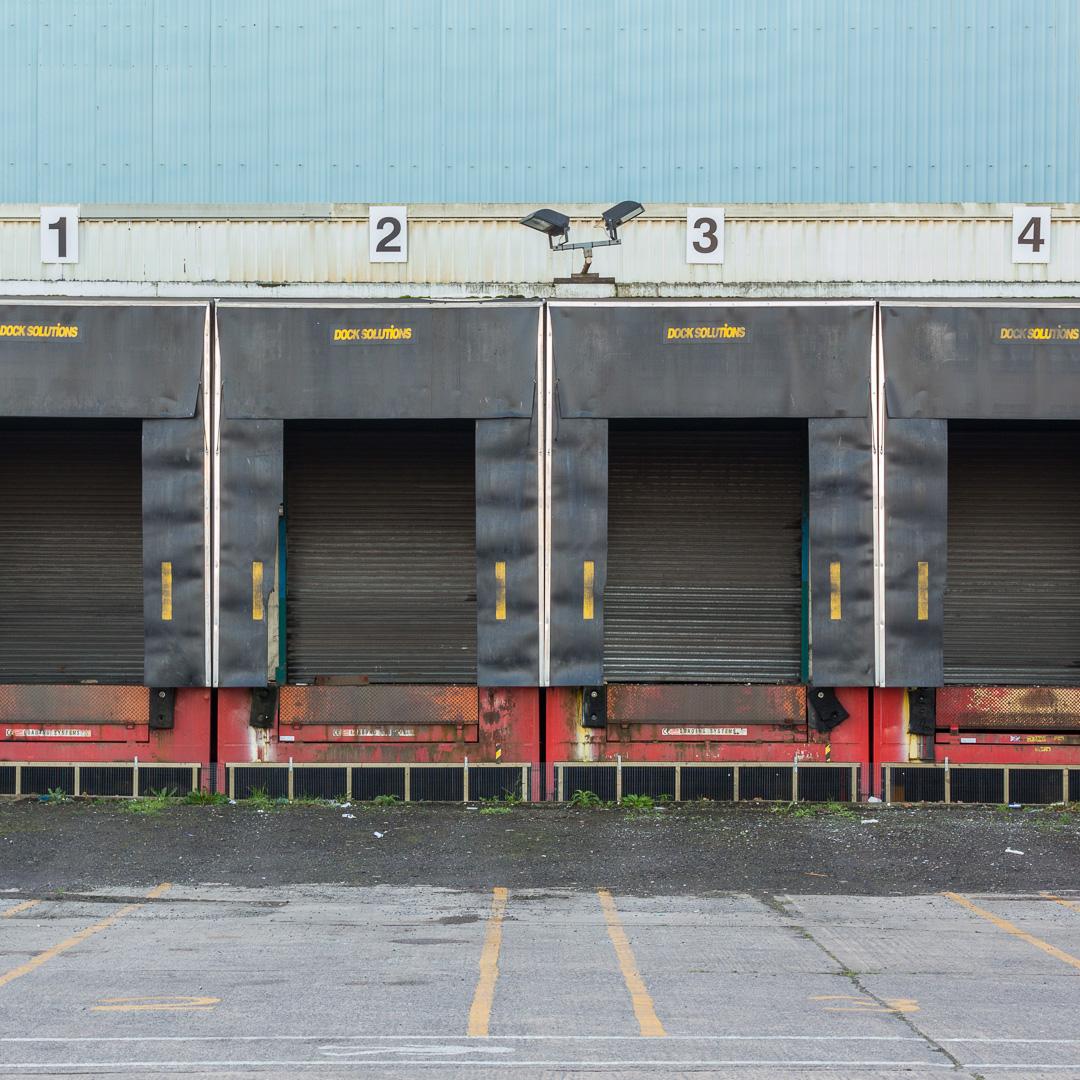 Loading dock, Avonmouth, Avon.