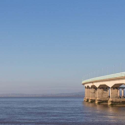 Wales and Second Severn Crossing, Avon.