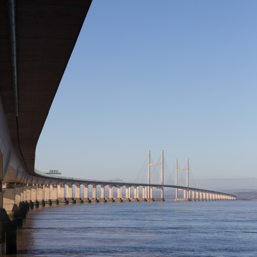 Second Severn Crossing, Avon.