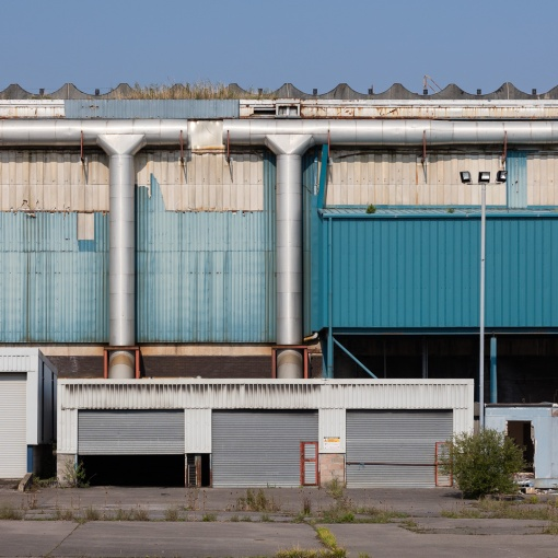 St Regis Paper mill in Subrook, Caldicot, Gwent.
