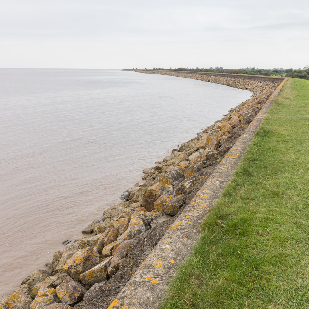 Seawall, Portland Grounds, Gwent.