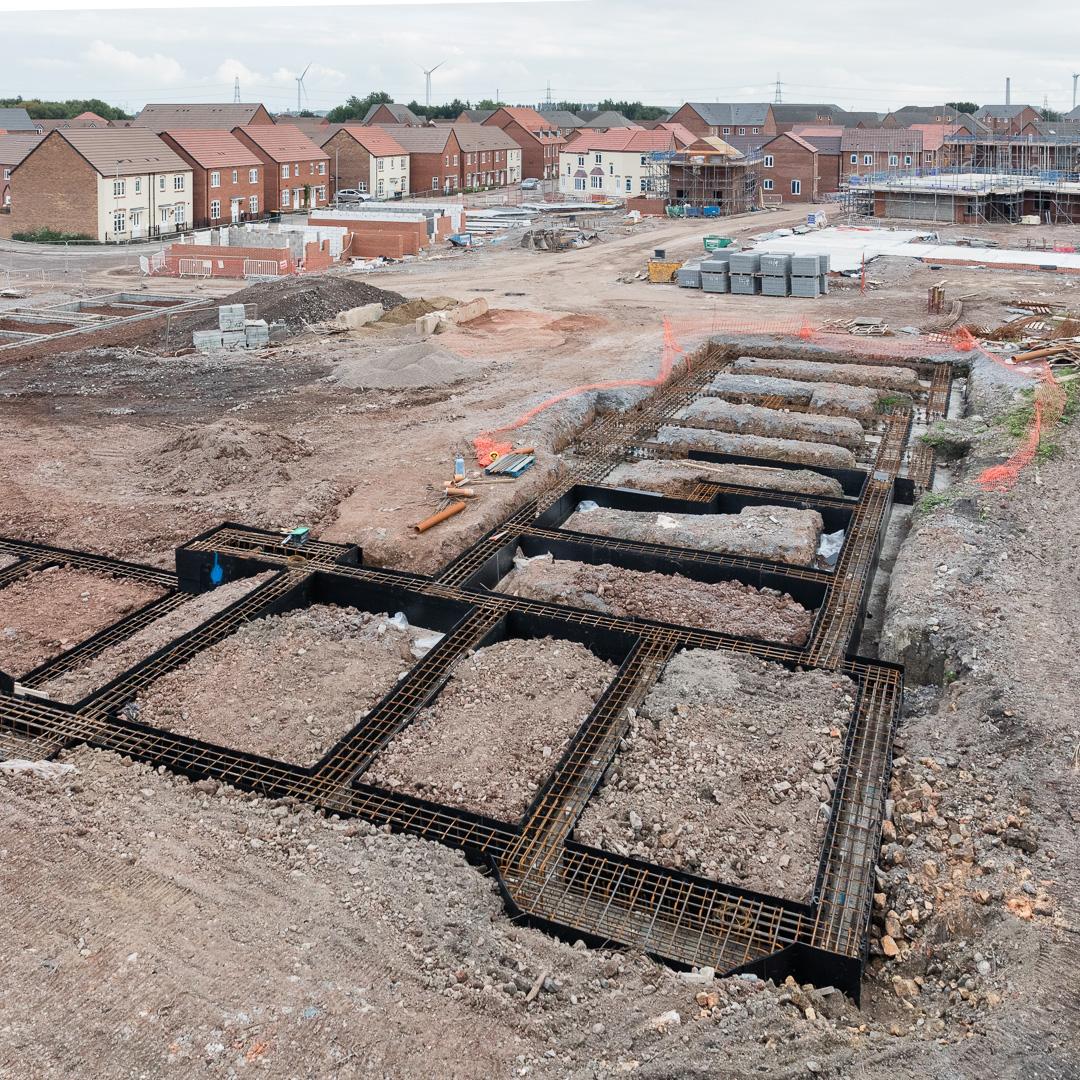 Lysaght Village, Taylor Wimpey development, Newport, Gwent.