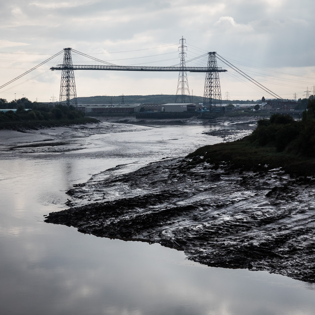 Newport Transporter Bridge, River Usk, Newport, Gwent.