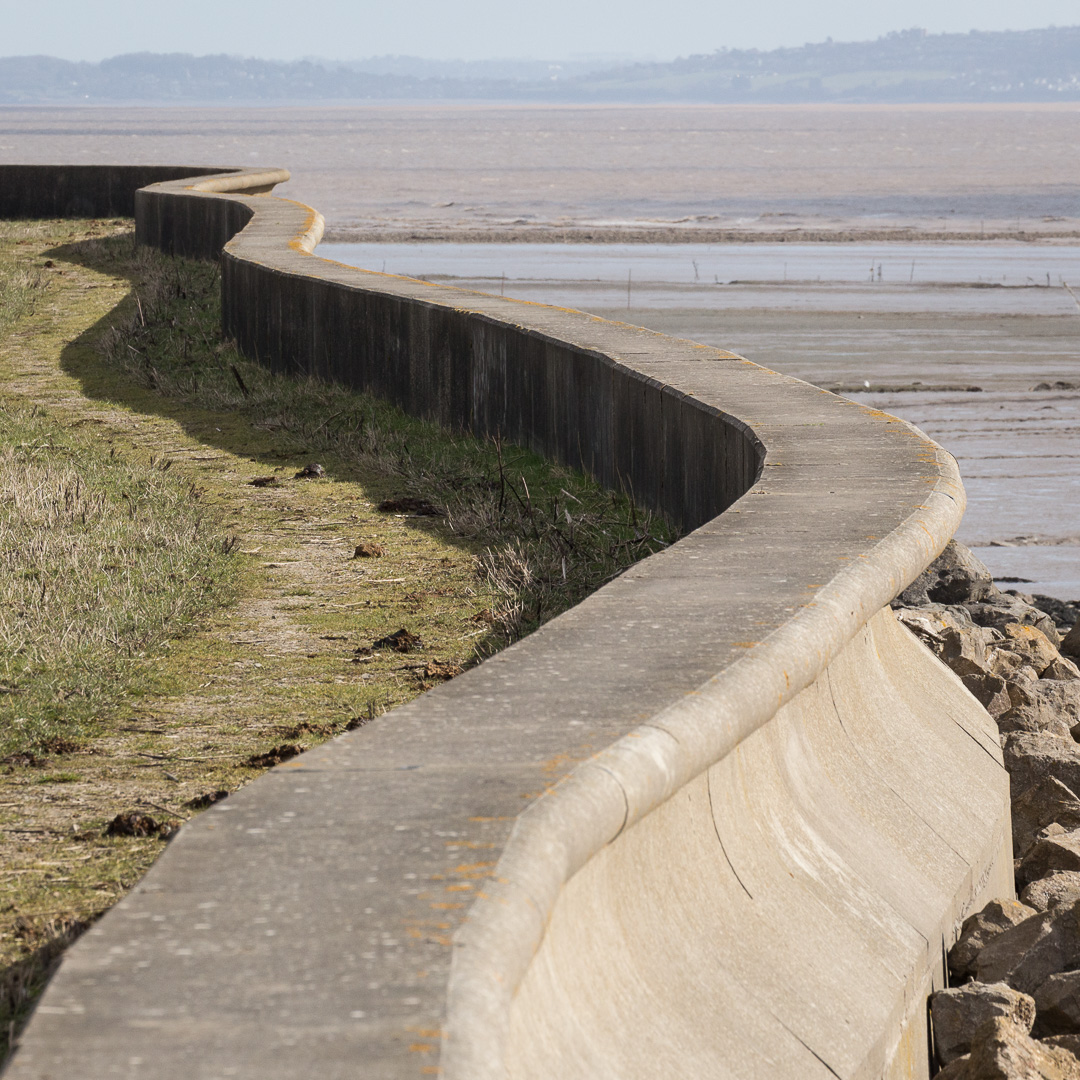 Wiggly Seawall, Peterstone Gout, Gwent.