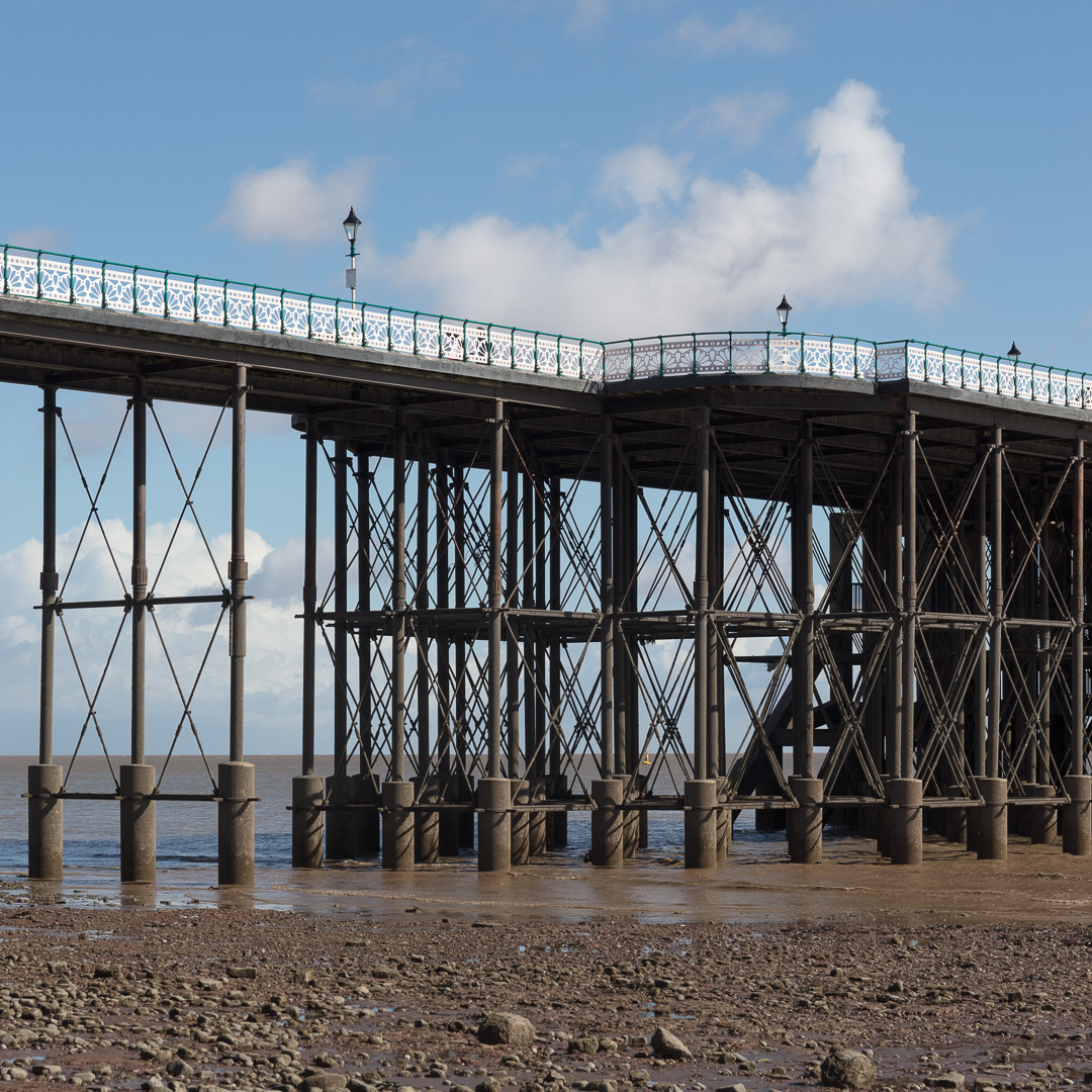Penarth Pier, Glamorgan.