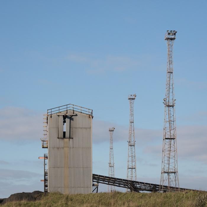 Cal Yard, Tata Steelworks, Port Talbot, Glamorgan.