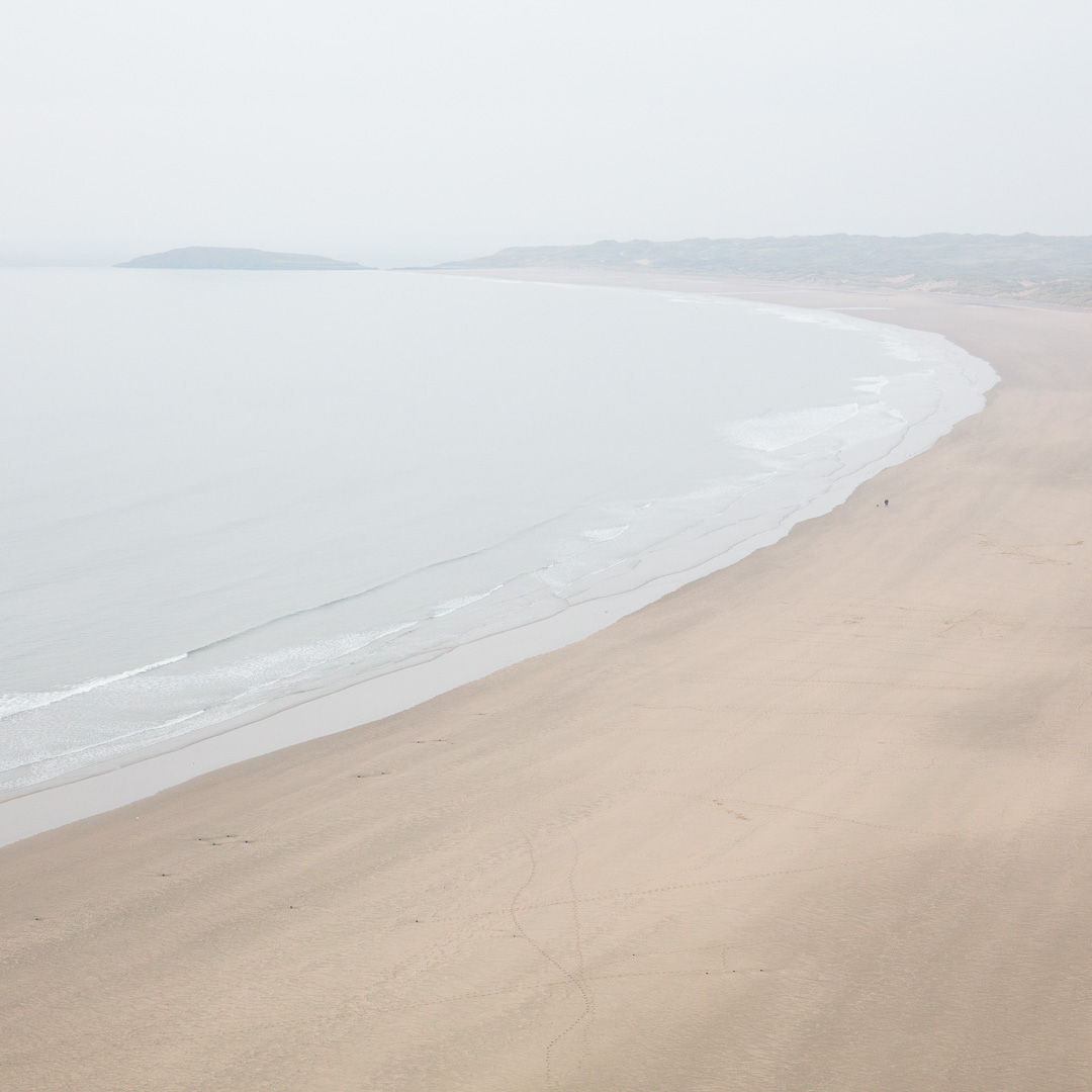 Burry Holms & Rhossili Bay, Gower, Glamorgan.